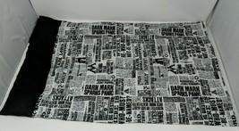 Pottery Barn Teen Harry Potter Daily Prophet Magical Newspaper Pillowcase VTG - $29.69