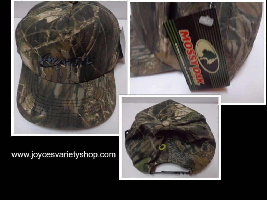 Mossy oak camouflage hat collage 2017 10 23