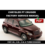 2001 2002 2003 2004 2005 2006 2007 2008 2009 CHRYSLER PT CRUISER SERVICE MANUAL