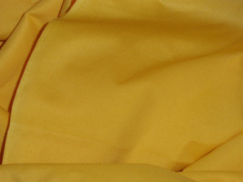 "Yellow Cotton LT. Weight Broadcloth  Fabric BTY Cotton 44"" Wide - $8.99"