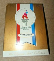 1996 Hallmark Centennial Olympic Games Atlanta Gymnastics Figurine Nib - $19.99