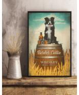 Border Collie Whiskey Poster No Frame - $18.86+