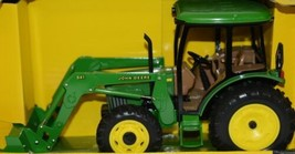 John Deere TBE15357 Die Cast Metal Replica 5420 Tractor Functional Loader image 2