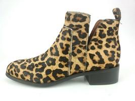 Franco Sarto Women's Shoes Bernie 2 Ankle Boot Fur Calf Hair Leopard Siz... - $65.41