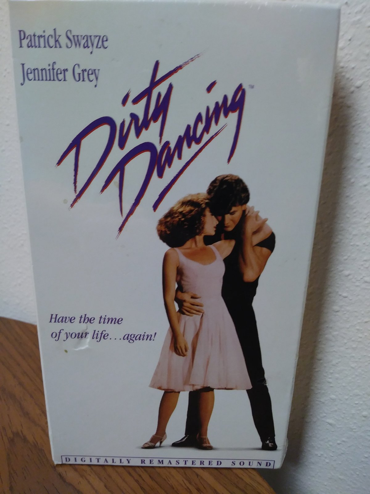 Dirty Dancing VHS New Factory Sealed 1987 Includes theatrical trailer VHS Video