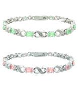 Swarovski Crystal Stretch Luminous Red Bracelet, NWT - $9.99