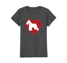 I Love My Schnauzer T-Shirt for dog breeders moms and dads - $19.99+