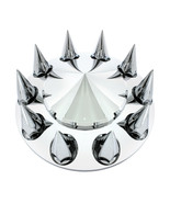 Pointed Front Axle Cover Set w/ 33 mm Thread-On Spike Nut Covers - $47.51