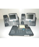 Cisco IP CP-7970G Color Display VoIP Telehone 802.3af PoE 8 Lines Business Phone - $19.95