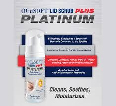 OCuSoft Platinum Lid Scrub Foaming Eyelid Cleanser 50mL Free shipping