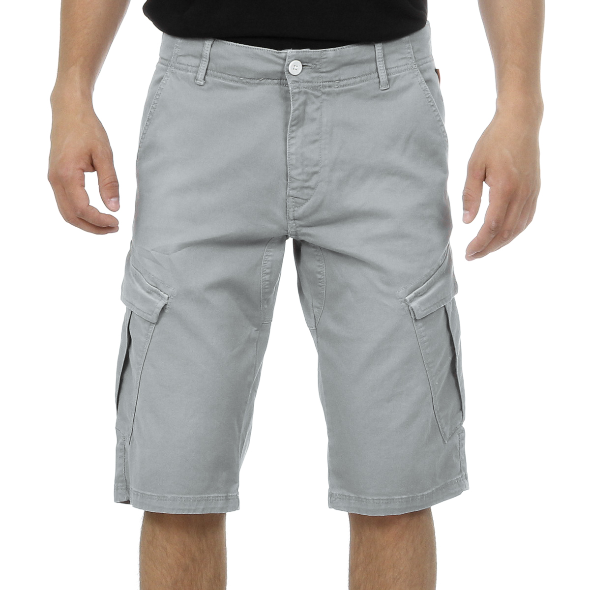 Primary image for Andrew Charles Mens Shorts Light Grey JAKO