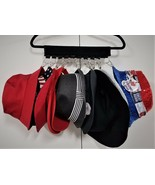 Hat/Cap Hanger - Holds up to 10 pcs (Many Uses!) - Compact - Easy to Use! - $13.59