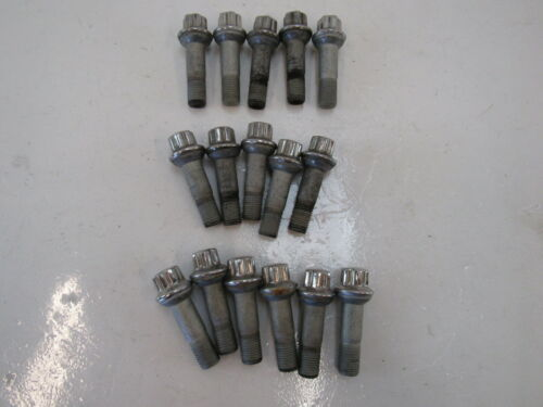 Primary image for 17 Mercedes C217 S550 S63 lug nuts set 16, OEM