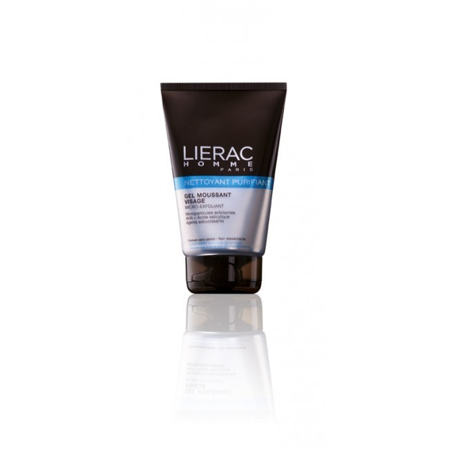 Lierac Men Purifying Cleanser Gel Micro-Exfolianting 100ml