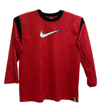Nike Boy's Long Sleeve Red Top Size XL (18-20) - $15.83