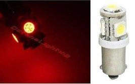 OCTANE LIGHTING (1) Red 5-Led Dash Instrument Panel Cluster Gauge Clock Glove Bo - $2.92