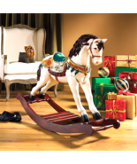Victorian Carousel Pony Rocking Horse Statue - $399.00