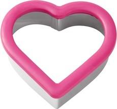 Heart Pink Comfort Grip Cookie Cutter Wilton - $3.79