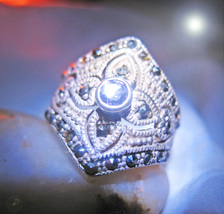 HAUNTED RING MYSTIC QUEEN'S ABUNDANT BLESSINGS OFFERS ONLY OOAK MAGICK 7... - $89,007.77