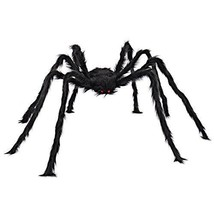 5 ft Huge Halloween Outdoor Decor Hairy Spider by Spooktacular Creations... - $22.90