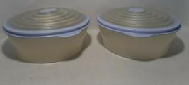 2 Tupperware Stuffables 6 Cup Bowl #5316, Purple Lid Seal #5319 - $19.40