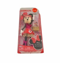 Disney Minnie Mouse Oh So Chic Fashion Doll 9 Inch Tall Poseable NEW With Purse - $17.99