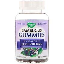 Healthy Immune System Boost Sambucus Gummies, Standardized Elderberry 60 Gummies - $26.95