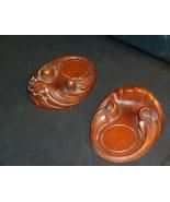 "Syroco Wood Coasters 4 1/4""  x 3 1/4"" - $24.74"