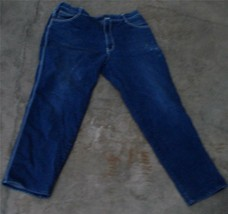Nice Gently Used Ladies Action Blue Polyester/Cotton Blend Jeans, Size 4... - $11.87