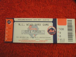 2015 NL Wild Card Game KC Royals @ New York Mets Unused Citi Field Ticket Stub - $6.92