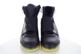 5 2013 Black HOMME Top 9 Trainers Leather 43 5 High W DIOR UK 10 EU F US qwPqIt