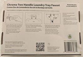 Homewerks Worldwide 16U42WNCHB Chrome Two Handle Laundry Tray Faucet image 10