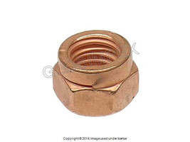 Mercedes Copper Plated Exhaust Nut O.E.M. +1 YEAR WARRANTY - $9.95