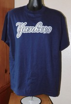 Stitches Athletic Gear Men's Navy New York Yankees Short Sleeve T-Shirt Size: L