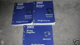 2002 Ford Mustang Gt Cobra Mach Service Shop Repair Manual Set W PCED & ... - $243.08