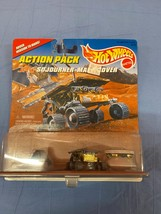 Vintage Mattel Hot Wheels Action Pack JPL Sojourner Mars Rover Lander Toy Car - $13.99