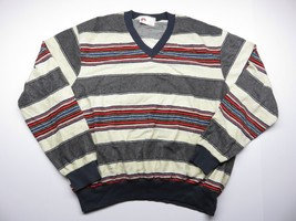 Vintage Kings Road Sears Knit Sweater Long Sleeve Crew Neck Adult Size L - $39.56
