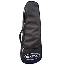 Bonzai BAG-5MM-Bon-Concert Ukulele Gig Bag with 5 mm Foam Padding Black ... - $14.00
