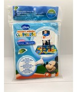 Floor Topper Mats Mickey Mouse Clubhouse 5 Ct New Reusable or Disposable . - $14.75