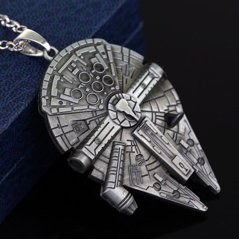 Star Wars, Star Trek, Firefly Themed Pendants - Millennium Falcon, Enterprise image 2