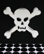 Pottery Barn Metal Skull Wall Art –Nib– It's Sure To Create Fear In Their Bones! - $112.46