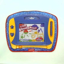 new Grin Studios 4 Color Drawing & Erase Board 5 Screen w/ Pen & 2 Stampers - $15.68