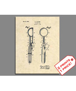Patent Prints - Ice Cream Scoop Patent Art - Vintage Ice Cream Wall Deco... - $9.77