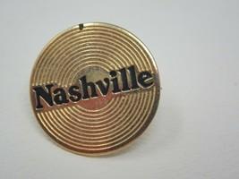 Vintage Gold Colored Nashville Record Album Pin - $19.75