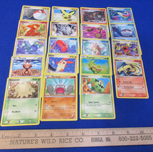 Pokemon Cards Deck 106 Pocket Monster Trading Cards Lot of 19 - $10.34