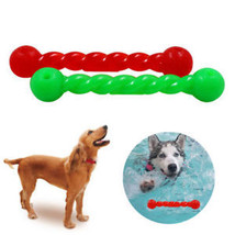 Interactive Rubber Rod Safe Floating Toy For Pet Dog Puppy Teeth Gums Chew Gift - $8.39