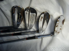 Vintage Tommy Armour Irons 2 - 9 Some are Rechromed with Rust image 4