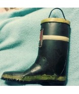 """Hobby lobby Metal """"Firefighter Boot"""" Coin Bank - $13.37"""