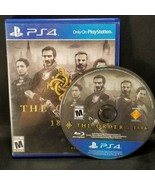 The Order 1886 (Playstation 4, 2015) PS4 Game  - $9.89