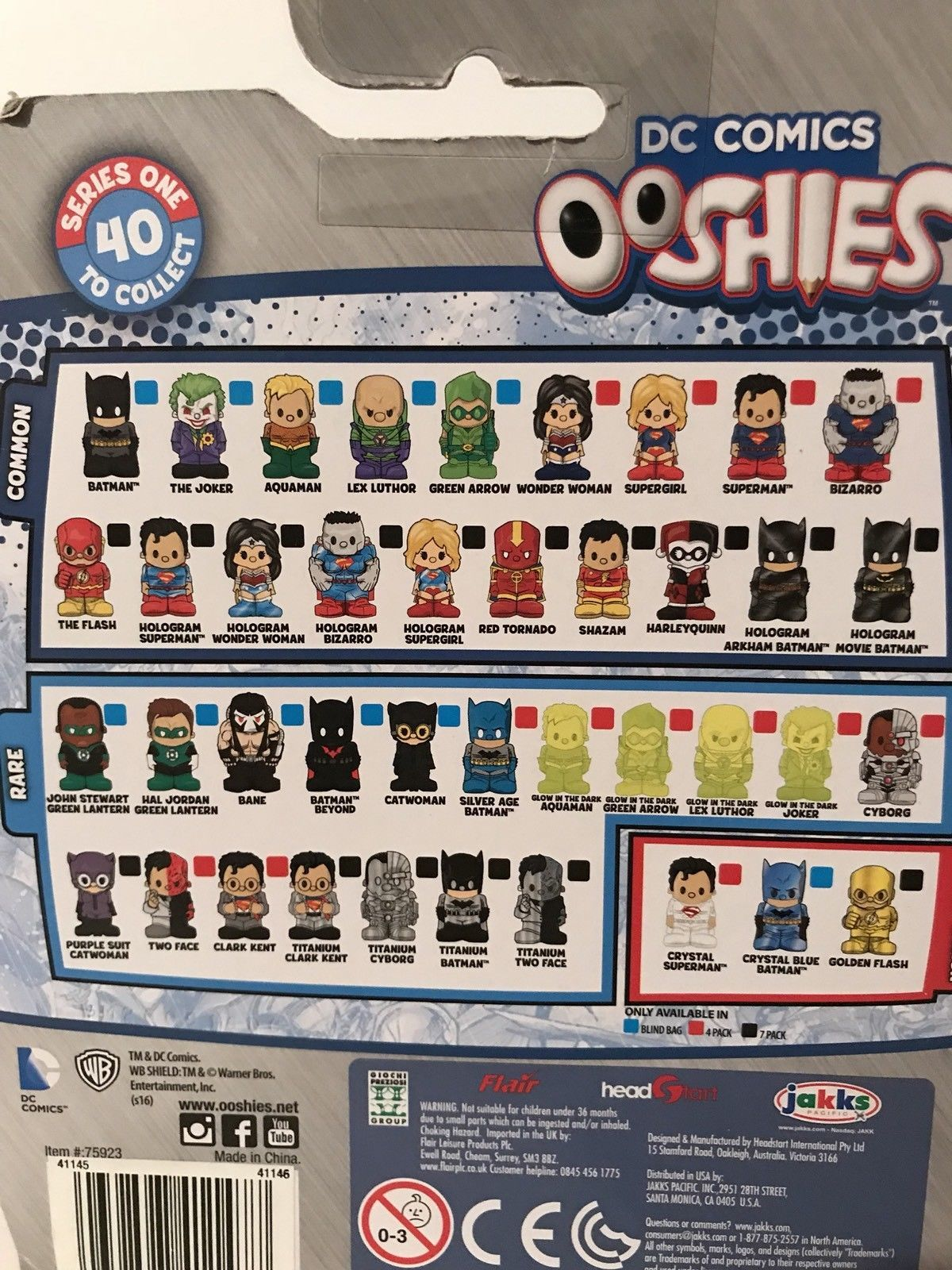 "Nouveau ooshies WWE Mix 4/"" Figure Pack de 4"